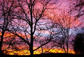 Colorful sunup by R-Anna