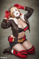 Pin-up Bombshell Harley Quinn by St3phBot