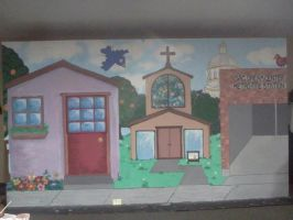 2012 Sacramento Dream Center Puppet Theatre by InkByInk