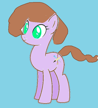 first shot at a oc again by mylittleponyfan100