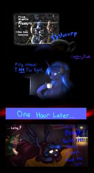 No More FNAF2 For Luna by Cyclone-Dusk