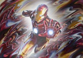 Iron Man by PureDeluxe