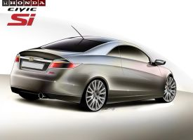 Civic SI coupe by yamell