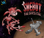 Shebot the Space Girl by Rhodeway