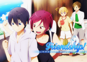 [Banner #13] Friendship - Summer time with Free by sandrareina