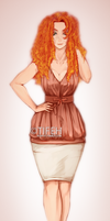 Firey Curls *^* by Rush--it