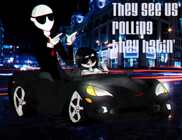 they see us rolling by kascy