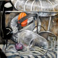 Additive Abstracted Still Life by Something2Behold