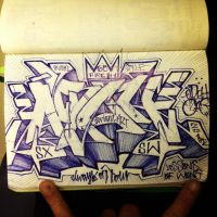 SXSW pager killer 2 by draweverywhere