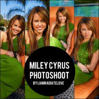 Miley Cyrus Photoshoot. 003 by LiamRadiateLove
