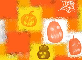 Pumpkins for Halloween by Urceola
