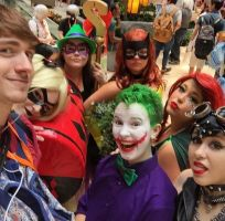 DC Group Selfie by CoversAndCosplay