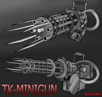 Concept Weapon TK-MiniGun by DennisH2010
