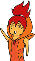 Renji as Flame Prince by my-name-is-totoro