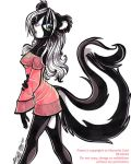 -Fluffy tail and white hair- by ManueC