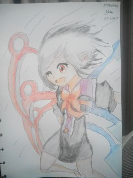 Colored : What a nue-mero uno, nue is~ ~~ XD by Kh3mm4