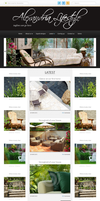 Lifestyle Blog layout Black version by ahsanpervaiz