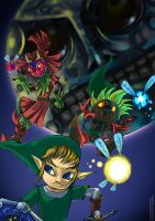 Zelda Majora's Mask by arinadream