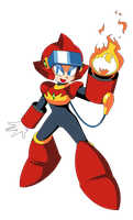 Flare Woman (Mega Man VR) by acediez