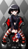 goth_girl_with_doll by nekoshiei