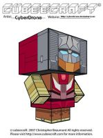 Cubeecraft - Chromedome by CyberDrone