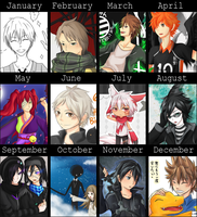 2k14 Art Summary by KeiHoshi