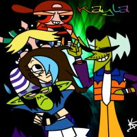 Me Hanging With PPG Villains by TF2Fan887