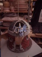 Ceramic 3 project : Dragon House (Updated) by ownerfate