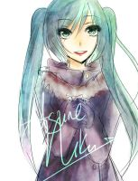 Hatsune Scribble by phosholol4real