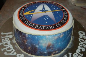 Starfleet Command Cake by JanJL