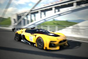 GT by Citroen Race Car at the High Speed Ring by Racefan2464
