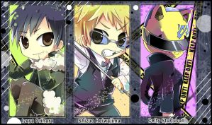 Drrr_Chibi Set B by m-miron