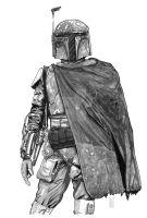 The Bounty Hunter Grayscale by Dave-Acosta