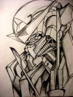 GN-001 Exia by ipetk