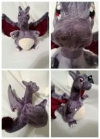 Shiny Charizard plush by LRK-Creations