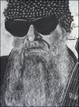 Billy Gibbons of ZZ top by candysamuels