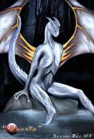 Quenta - Silver Dragoness by Sevian