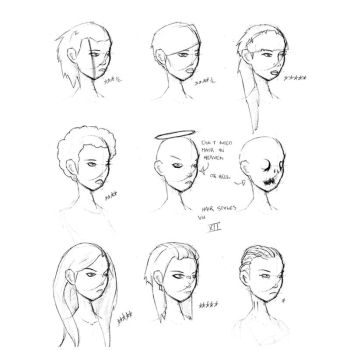 Hair Styles Vol 12 by FabledCreative