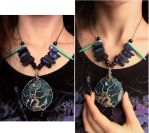 Wearing Tree of Life Pendant by mysteriouswhitewolf