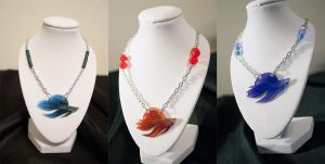 Betta Splendens  Necklaces by daPatches