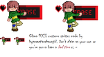 Chara Erase- new ID by HyperactiveChaosgirl