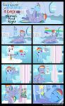 Dashie's First Flight by MLP-Silver-Quill