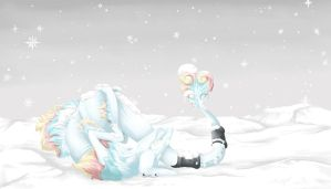 Dream of dancing snowflakes by Fucal