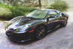 Dream Car Ferrari F430 paintin by Z-Vincent