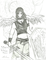 the Angel Draco, and Angelo the Dragon by wowmom-penemily