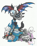 Sans Collection 2 by FumyaHero
