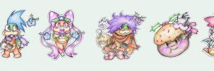 Merry Christmas, Koopalings by SuperCaterina