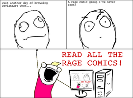 READ ALL THE RAGE COMICS! by Catabatik