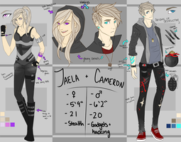 Jaela and Cameron Double Ref by rytanny