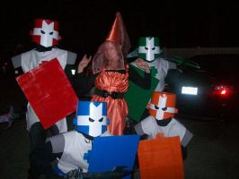 Halloween '10: Castle Crashers by Iron-KoolaidMan